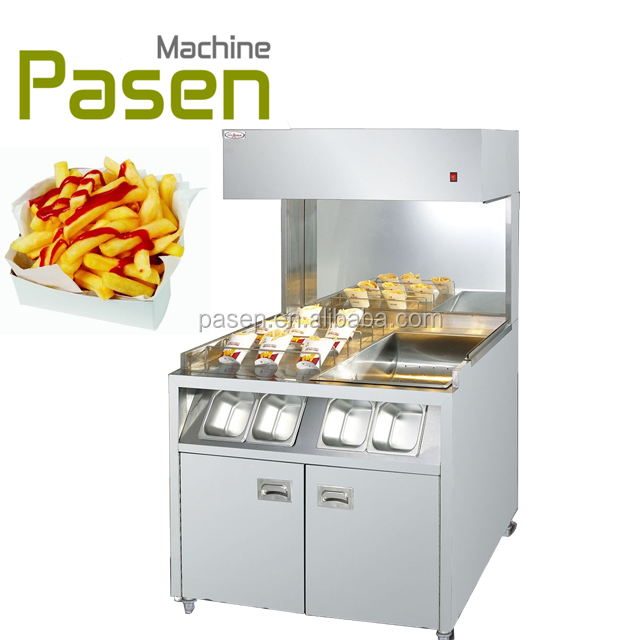 Freestanding french fries warmer / Potato Chips Warmer / Chips worker