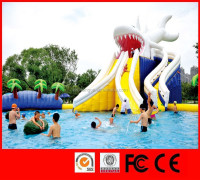 Entertainment kids giant inflatable amusement park rides inflatable water sports products