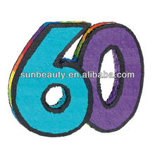 Manufacturer Age 60 Number Pinata 60th Birthday Themed Party Supplies Ideas