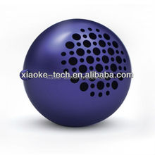 Fashionable rechargeable portable speaker with UV painting