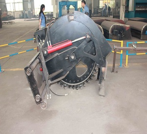 construction parts skid loader disk type trencher sales