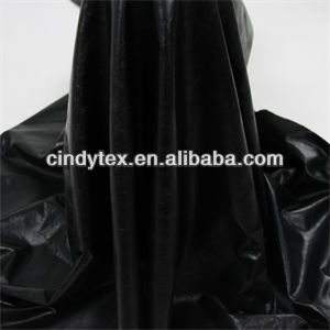 drapery soft and warm black real cow genuine leather garment fabric