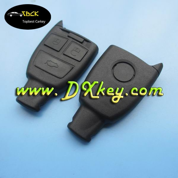 Hot sale key cases for 3 button Fiat car remote control case fiat 500 key cover