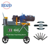 easy operation manual construction machine steel rod threading machine
