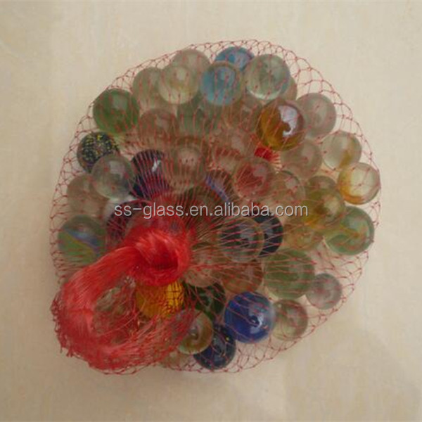 16mm 22mm 25mm china factory round clear glass marbles for children playing