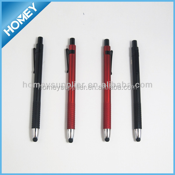 Metal clip stylus touch pen in slim design