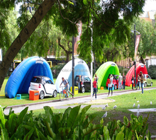 For yard event with logo air supported dome product double inflatable tent