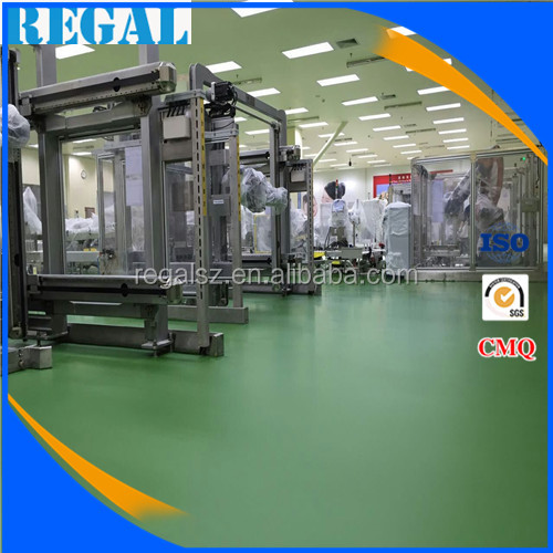 solvent-free polyurethane floor paint for textile workshop