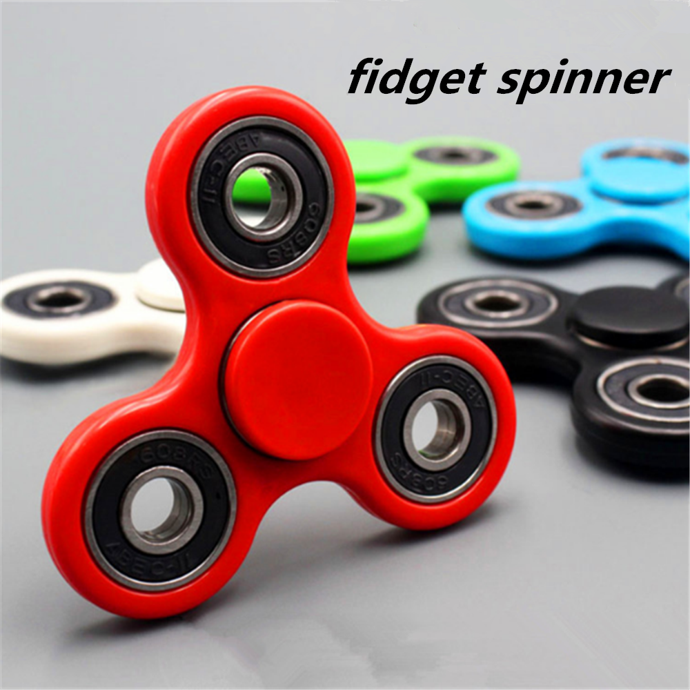 In Stock! ! 2017 crazy hot ABS hand finger fidget spinner for wholesale