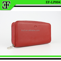 Fancy high quality wholesale leather women wallet purse