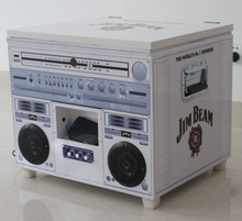 Music speak barbecue cooler boxes with battery