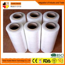 Free Samples Transparency Stretch Film Type Transparent Plastic Film with Glue