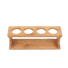 Wholesale 2015 Creative Kitchen Accessories Decorative Bamboo Kitchen Spice Rack For 4 Jars