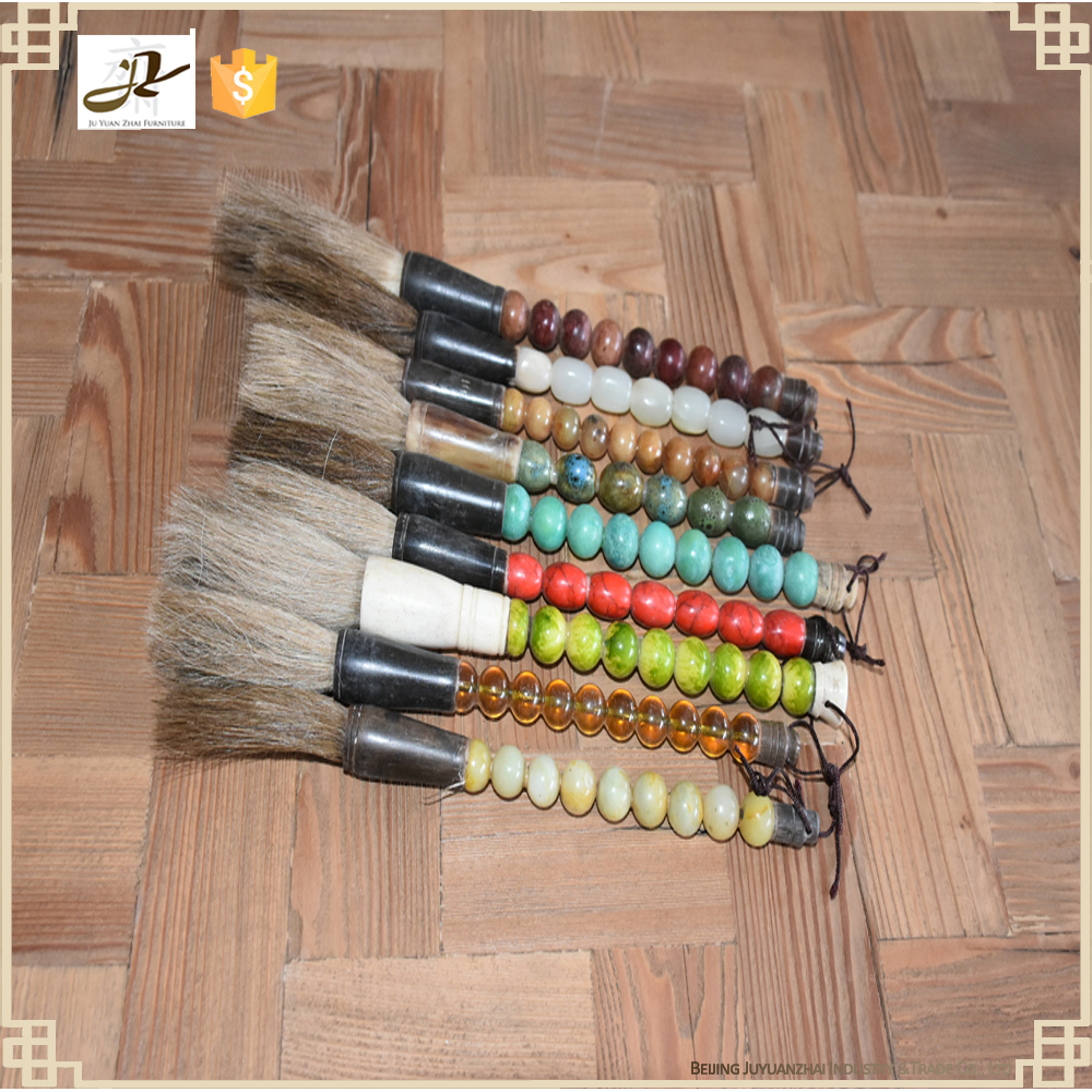 Chinese home handcrafts decoration accessories wholesale chinese new small calligraphy writing brush