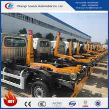 Chinese manufacturer Manual transmission type and new condition changan 4*2 mini type arm roll garbage waste truck for sale