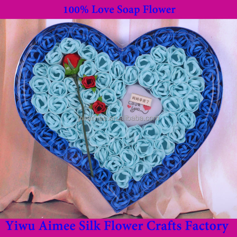 Yiwu Aimee thailand soap carving flowers ,hand carved soap flowers(AM-WF03)