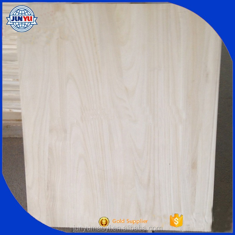 paulownia solid wood boards / cheap paulownia wood boards