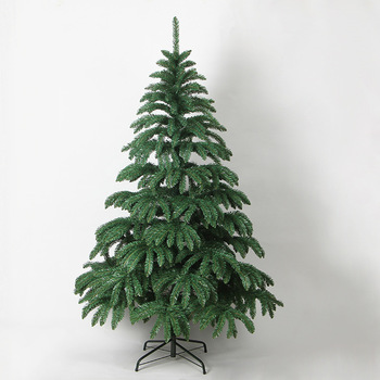 custom 30 to 300 cm pe decorated holiday time outdoor foldable portable pvc artificial christmas tree