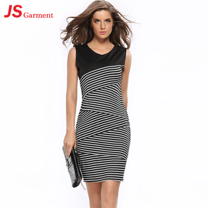 JS 20 Custom Made New Lady Official Fashion Dress Beautiful Lady Tube Top Dress 744