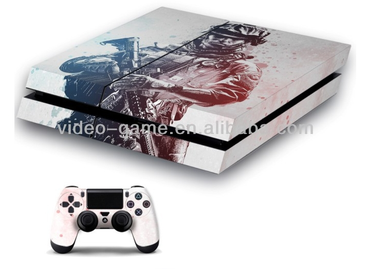 Skin sticker Games accessory For PS4