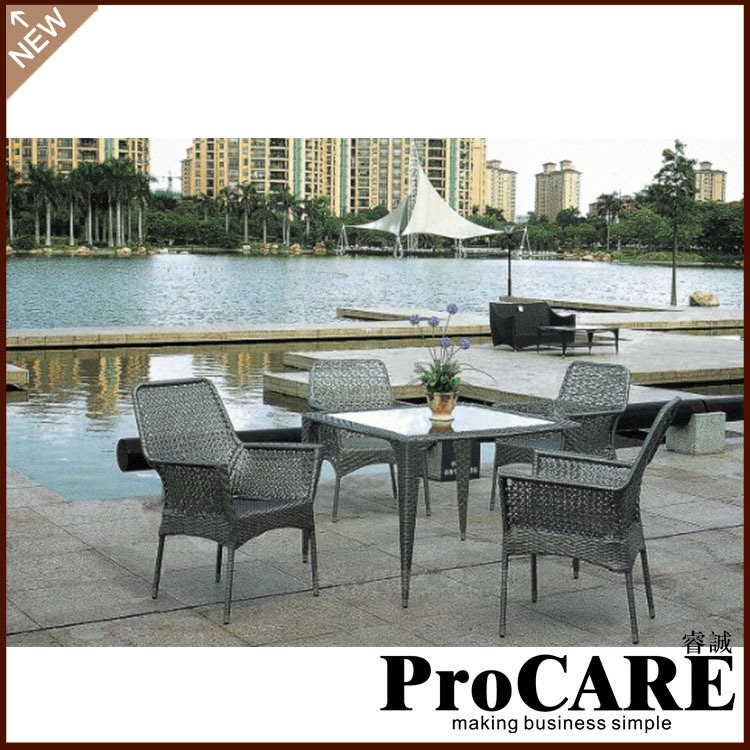 wholesale newest modern bamboo outdoor furniture
