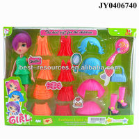Girls toys fashion girl set 9 inch lovely fashion doll