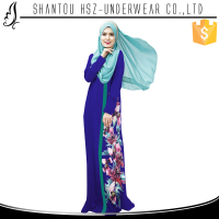Zakiyyah-MD026 Wholesale Fashion high grade jilbab dress for muslim Fancy Kaftan turkish Jilbab New Design Latest jilbab