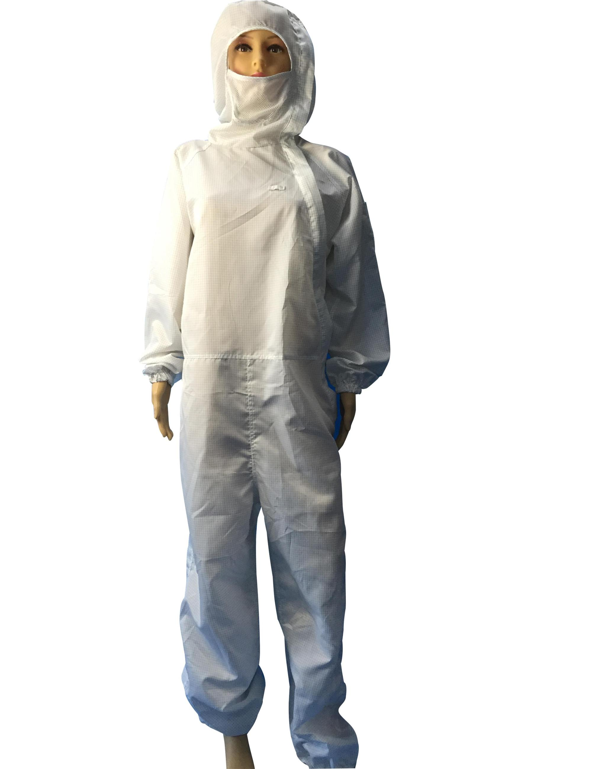 Customized ESD Coverall Cleanroom Anti Static Jumpsuit Uniform