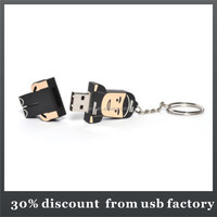 high quality 8GB people shape pvc usb flash drive