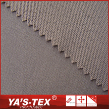 China wholesale dyed weave 92% polyester 8% elastane peached jacquard fabric for cycling clothing