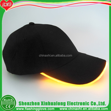 Factory Supply LED Baseball Cap