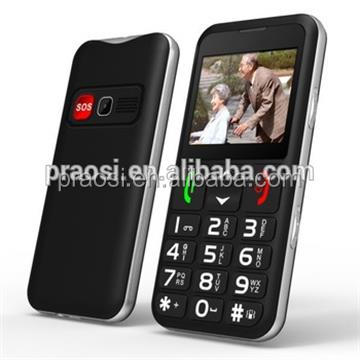 simple function easy to use senior mobile phone with GSM WCDMA dual SIM