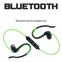 Powerful Anti-fall wireless sport stereo bluetooth earphone and headphone