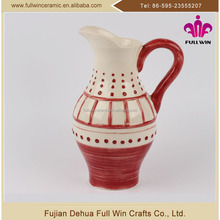 New Wholesale Factory Manufacture ceramic wholesale pitcher,ceramic milk pot container