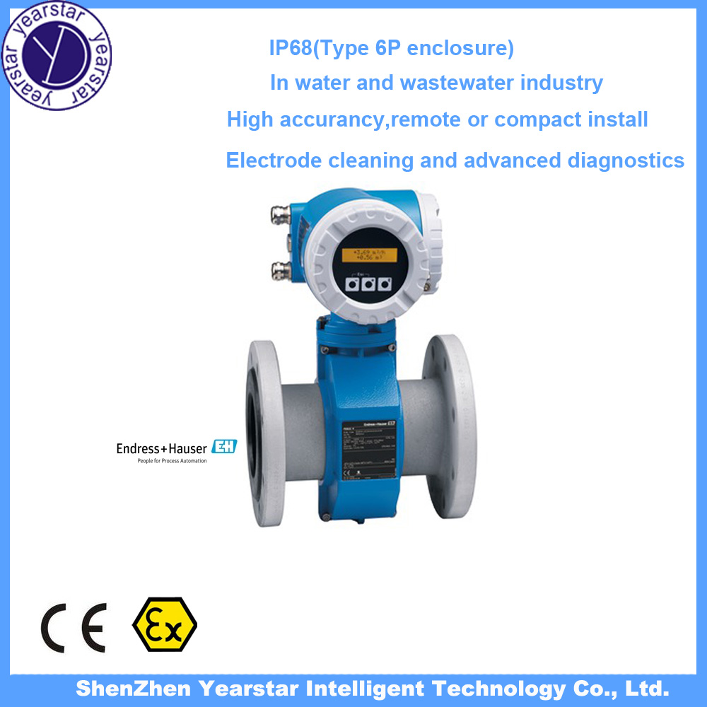 Endress Hauser/ high accuracy Electromagnetic water flowmeter 53W/water flow meter