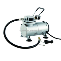Mini car air compressor for tire inflation, inflating cars,bikes,different kinds of balls