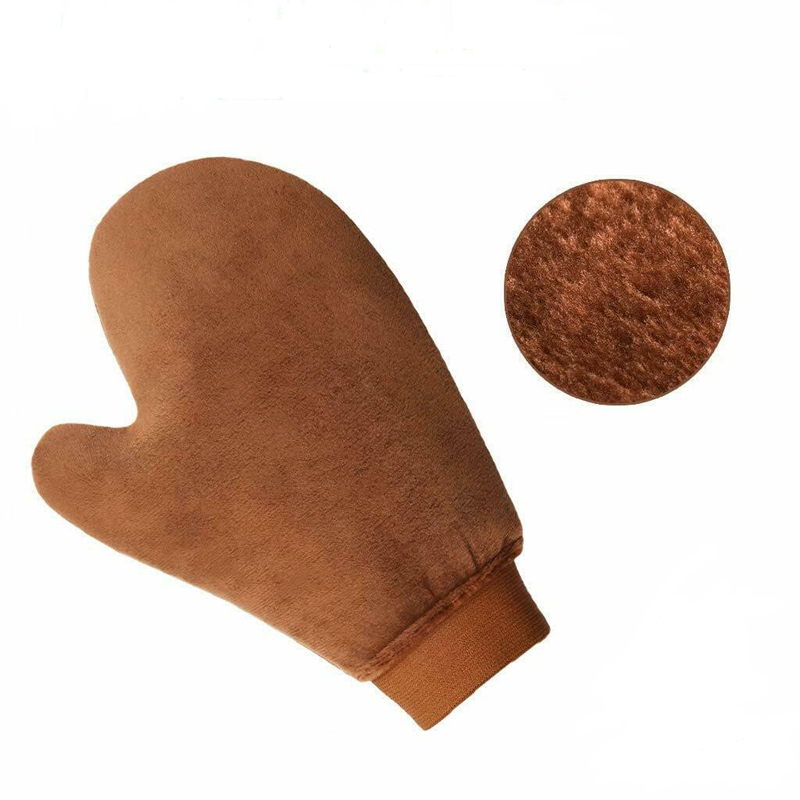 Sunless Tanning Mitt with Anti-Slip Elastic Wrist and Thumb Tanning Mitt Applicator Self Tanner Mitt