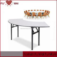 cheapest steel frame round shape wholesale picture of folding table