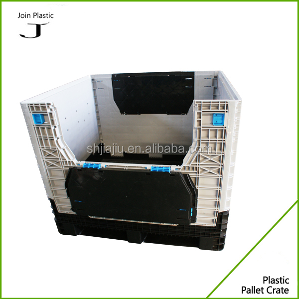 Alibaba Trade Assurance Supplier folding plastic pallet box