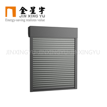 Jinxingyu exterior decorative aluminium roller shutter window