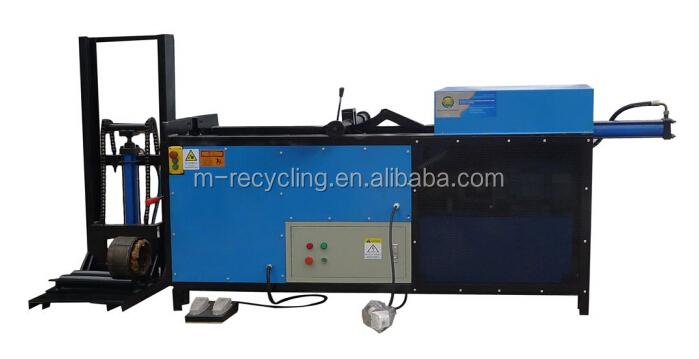 Ltj 5 electric motor stator recycling machinery for iron for Electric motor recycling machine
