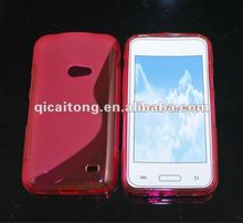 cellphone S-line TPU cover for sumsung I8530 galaxy beam