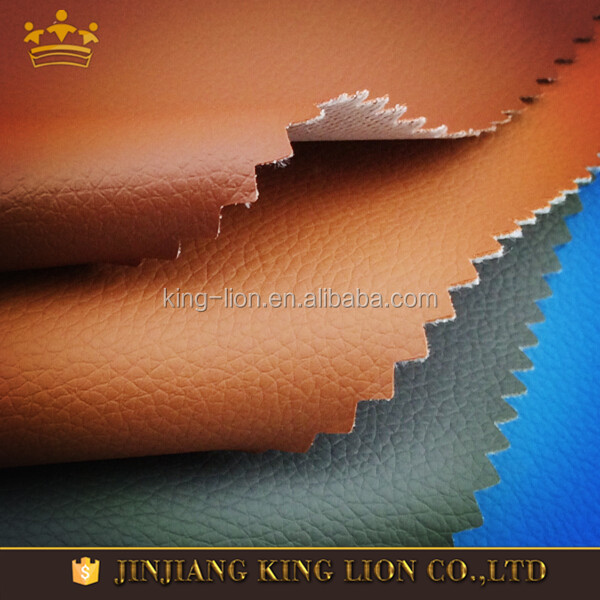 China rexine car seat cover leather