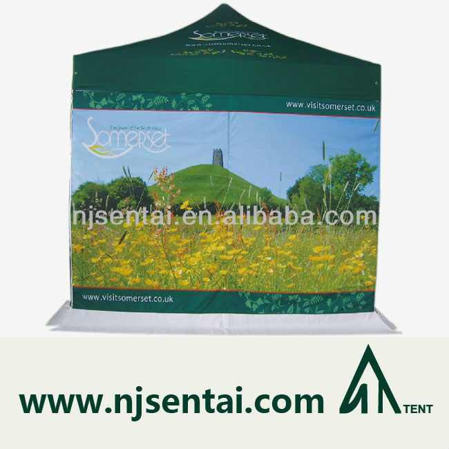 4X4M Top Quality Waterproof Aluminum Popup small hexagon Tent Exhibition Event Marquee Gazebo Folding Marketing Canopy Pagoda