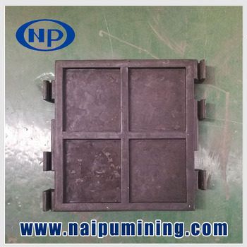 Naipu Professional High Working Efficiency Abrasion Resistance Mining Rubber Viberating Screen Plate mesh with CE