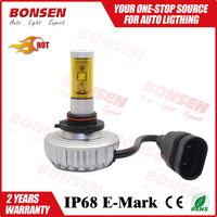 3S All-in-One Fanless LED Motor Auto Headlight bulbs 3S H4 CREES LED headlight with 5 Color Tube optional
