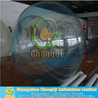 hot selling transparent floating water pool ball