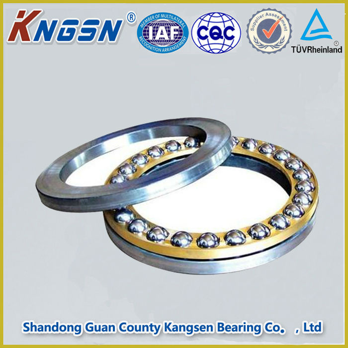 Chrome Steel One Way 51115 Thrust Ball Bearing for machinery single direction