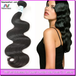 Factory Price brazilian body wave hair extension hair weft sealer