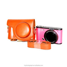 Cheapest Price Fashionable PU Leather Digital Camera Case ZR3500